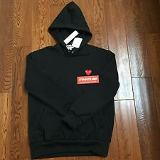 New Comme des Garcons Play Sweatshirt Pullover Hoody Hoodie Supreme Size L Fit M