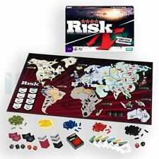 Risk: The Game Of Strategic Conquest Board Game Family Fun Faster Gameplay
