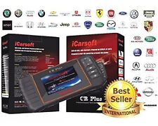 iCarsoft UNIVERSAL Diagnostic Scan Tool SRS ABS ENGINE TRANSMISSION CR PLUS OBD2