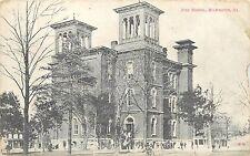 Vintage Postcard High School Wilmington IL Will County, Illinois