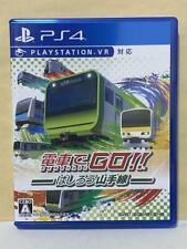 Sony PlayStation 4 PS4 Densha De GO Hashirou Yamanote Train Game PS VR Mint