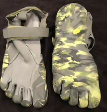Vibram TrekSport Five Finger Toe Shoes Mens 41 Grey Camo Bare Foot