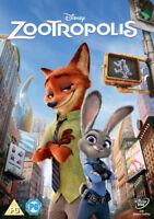 ZOOTROPOLIS DISNEY DVD ORIGINAL UK RELEASE WHITE CLASSICS