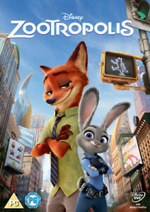 ZOOTROPOLIS DISNEY DVD ORIGINAL UK RELEASE WHITE CLASSICS