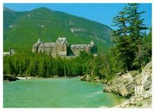 CANADA Banff Springs Hotel~Castle-like Canadian Pacific Hotel~Base of Sulphur Mt