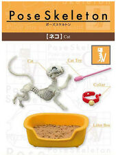Re-ment Pose Skeleton CAT Miniatures action Bone Figure