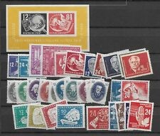 1950 MNH DDR year collection according to  Michel, postfris**