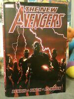 New Avengers HC rare 1st Edition Brian Michael Bendis 1A-1ST VF 2007 1st print