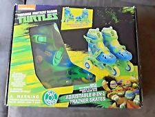 Nickelodeon Teenage Mutant Ninja Adjustable 2 In 1 Trainer Skayes Age 3+