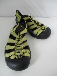 KEEN - Womens size 11 - Newport Sport Sandals Hiking Waterproof Chartreuse