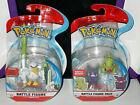Pokemon Battle Figure Pack Larvitar & Morpeko, Sir Fetch\'d new 2-Pack