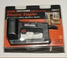 SEARS CRAFTSMAN ELECTRIC STAPLER 193.684770 NEW drives 1/4in, 5/16, 3/8 staples