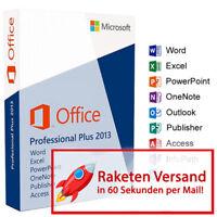 MS Microsoft Office 2013 Professional Plus | Vollversion Original Business | Pro