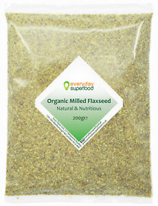 Milled Flaxseed Organic Ground Flaxseeds Powder Milled Linseed Raw Flax Seed