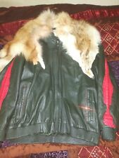 Mens Custom Leather Jacket Size 6xl (Must See)