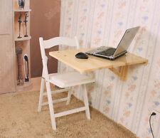 SoBuy® Table pr les enfants, table murale rabattable en bois,70*45cm, FWT04-N FR