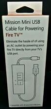 Mission Mini USB Cable for Fire TV MC45v1 Version 1 Streaming Video Gaming NEW