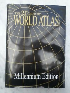 LIMITED EDITION 21ST CENTURY WORLD MAP ATLAS MILLENIUM EDITION BY TRIDENT