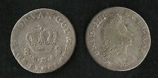 Danemark : 8 Skillings 1701 Argent