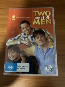 Two And A Half Men : Season 5 (DVD, 2009, 3-Disc Set)