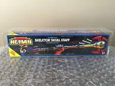 He-Man MOTU Skeletor Skull Staff 1990 Mattel Stunning AFA 85 Wow Look