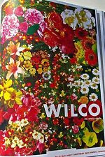 Wilco Mini-Concert Poster Reprint  FOR  U K TOUR 2007 14x10 Unsigned