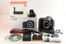 【TOP MINT+ 23K SHOT】Canon EOS 60D 18.0 MP Digital SLR Camera +BG-E9 Grip JAPAN