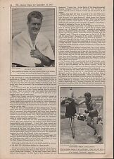1927- TUNNEY-DEMPSEY FIGHT; A WORLD SPECTACLE