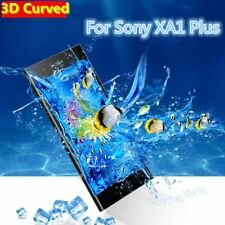 3D Curved Full Cover Tempered Glass Screen Protector For Sony Xperia XA1 Plus