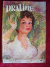 Praline Zeitschrift + Taschenbuch   Nr. 9 1954  rar