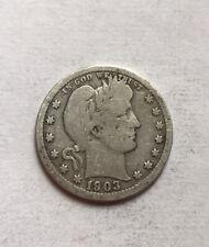 Us 1/4 Dollar 1903