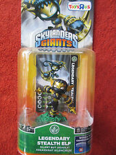Skylanders Giants Legendary Stealth Elf - Collectable, Rare