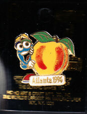 RARE PINS PIN'S .. OLYMPIQUE OLYMPIC ATLANTA 1996 MASCOTTE POMME APPLE ~14