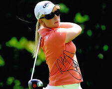 MORGAN PRESSEL signed LPGA 8x10 photo with COA