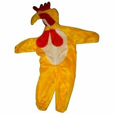KIDS PLUSH CHICKEN COSTUME dress up toddlers suit chick children girl boy SALE