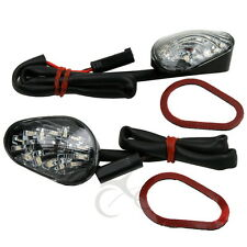 Clear Flush mount LED Signals For Suzuki GSX-R GSXR 1000 2001 2002 2003 2004