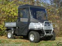 FULL CAB Enclosure w/ Clear Lexan Windshield ~ Kubota RTV500 +RTV900 ~ New ~ UTV