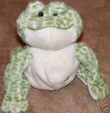 """8"""" Webkinz Full Size Spotted Frog No Code Plush Only"""