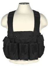 NcSTAR Black Airsoft Tactical Chest Rig Vest w/ Mag Pouch  Bag CVAKCR2921B