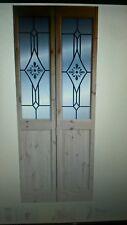 INTERNAL BI-FOLD PINE GLAZED DOOR by B & Q Size H2040 x W826mm