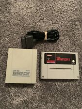 SNES NINTENDO SCOPE WITH SCOPE 6 GAME