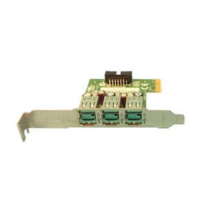 HP 693458-001 *NEW* Powered 12V 3-Pot USB Card Kit  632849-001 New HP bagged