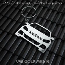 VW Golf MK6 R Stainless Steel Keychain