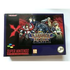 Jeu Super Nes Unholy Night The Darkness Hunter Nouvelle Edition Nintendo