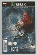 AVENGERS # 9 * WHERE IS THOR? * NEAR MINT