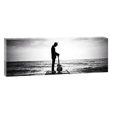 Guitarplayer Panorama Immagine Tela Modern Design Panorama XXL 150 cm*50 cm 688