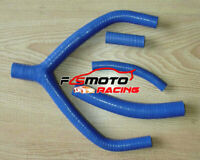 Blue For YAMAHA YZ250 1990-1994 1992 WR250 1991-1993 92 Silicone radiator hose
