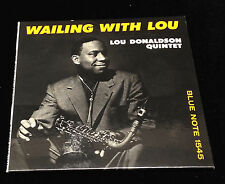 Lou Donaldson-Wailing With Lou-Blue Note 9088-JAPAN CD MINI LP SLEEVE RARE
