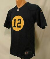 Aaron Rodgers #12 Youth L Green Bay Packers NFL Jersey NikeThrow Back Style