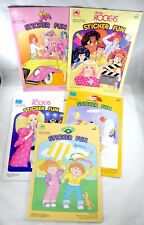 Vintage Jem and the Holograms Barbie Cabbage Patch Kids 80s Sticker Fun Lot Of 5